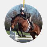 Ornamento del caballo del puente del cazador ornato