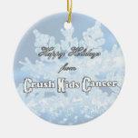Ornamento del cáncer 2014 de los NUEVOS niños del Ornamento Para Arbol De Navidad