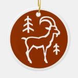 Ornamento del Capricornio Ornamento Para Reyes Magos