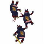 Ornamento del cerdo de Wizard101 Ninja Esculturas Fotograficas