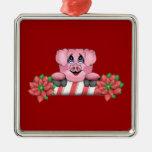 Ornamento del cerdo del navidad adorno para reyes