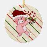 Ornamento del cerdo del navidad ornamente de reyes