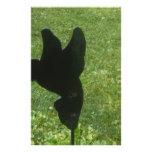 ornamento del césped del colibrí  papeleria