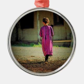 Ornamento del chica de Amish Adornos De Navidad