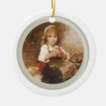 Ornamento del chica de la huerta ornamente de reyes