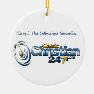 ornamento del círculo de ClassicChristian247.com Ornamento Para Arbol De Navidad