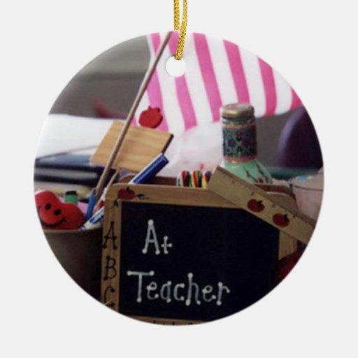 Ornamento del círculo del profesor #1 ornatos