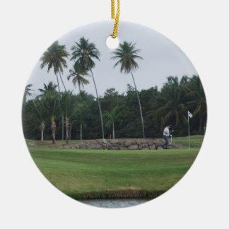 Ornamento del club de campo del golf adorno para reyes