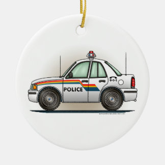 Ornamento del coche del poli del coche del crucero ornamentos de navidad