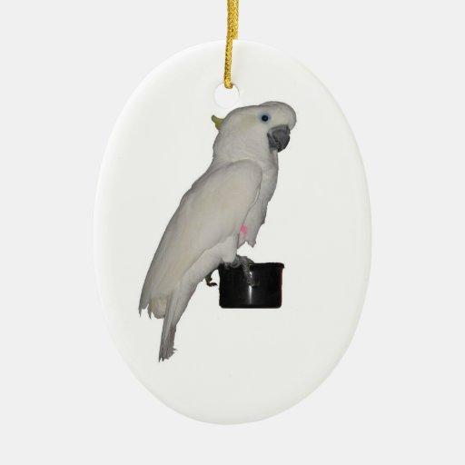 Ornamento del Cockatoo Adornos De Navidad