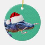 Ornamento del cocodrilo del navidad ornamento para reyes magos