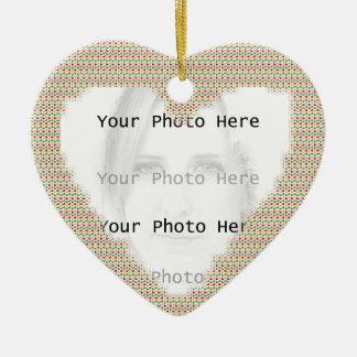 Ornamento del colgante del marco de la foto del ornaments para arbol de navidad