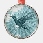 Ornamento del colibrí adorno para reyes