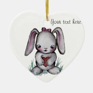 Ornamento del conejito del bebé ornamentos de reyes magos