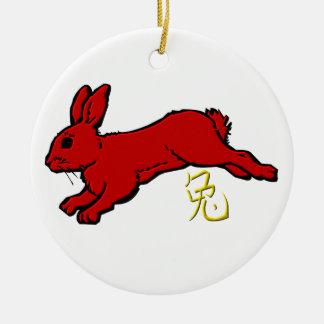 Ornamento del conejo adorno para reyes