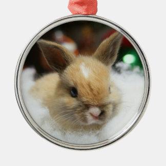 Ornamento del conejo del bebé del conejito de MHRR Adornos De Navidad