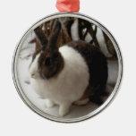 Ornamento del conejo ornamentos de navidad
