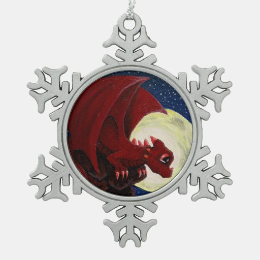 "Ornamento del copo de nieve de la ""perca"" adorno"