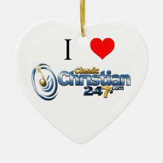 ornamento del corazón de ClassicChristian247.com Ornamente De Reyes