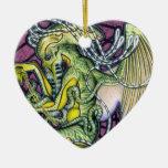 Ornamento del corazón de Cthulhu del pavor Ornatos