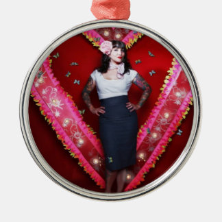 Ornamento del corazón de Hannah Ornamento Para Reyes Magos