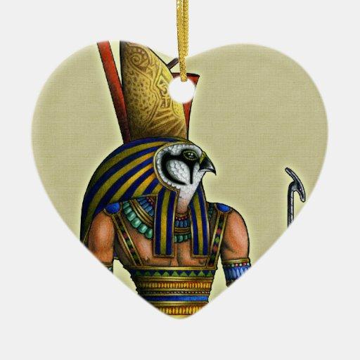 Ornamento del corazón de Horus Ornaments Para Arbol De Navidad