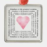 Ornamento del corazón de la sabiduría de la amabil ornato