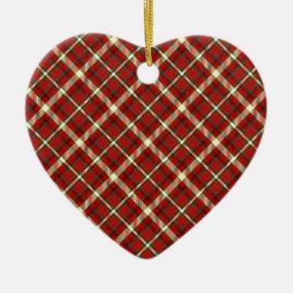 ornamento del corazón de Nueva Inglaterra 5 Adorno De Navidad