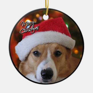 Ornamento del Corgi del navidad Adorno Para Reyes