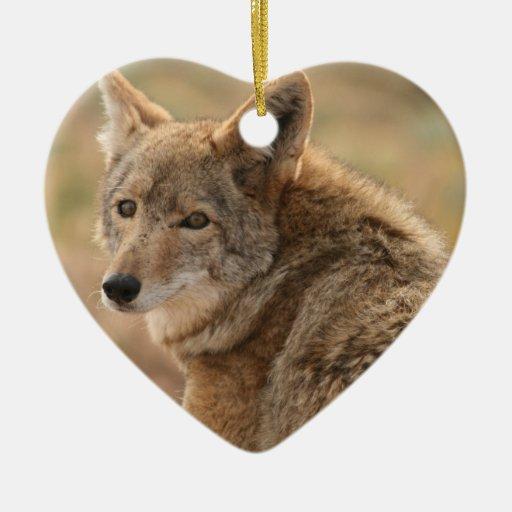 Ornamento del coyote ornamento para reyes magos