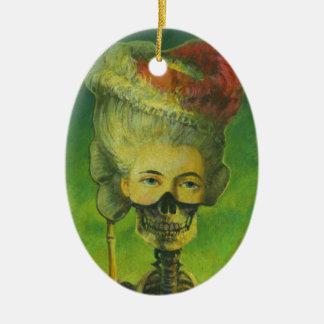 Ornamento del cráneo ornaments para arbol de navidad
