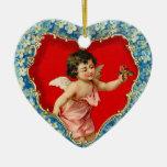 Ornamento del Cupid del Victorian Ornaments Para Arbol De Navidad
