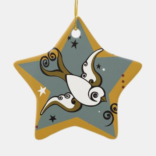 Ornamento del día de fiesta de la estrella del tra ornamento de reyes magos