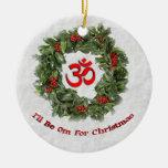 """Ornamento del día de fiesta de la yoga """"seré OM pa Ornamento De Reyes Magos"""