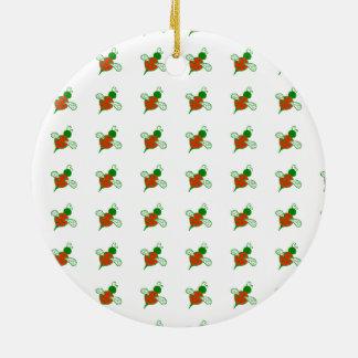 Ornamento del día de fiesta de las abejas de Yule Ornamentos De Reyes Magos