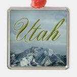 Ornamento del día de fiesta de Utah Ornamento De Navidad