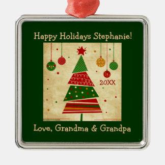 Ornamento del día de fiesta del árbol de navidad adorno