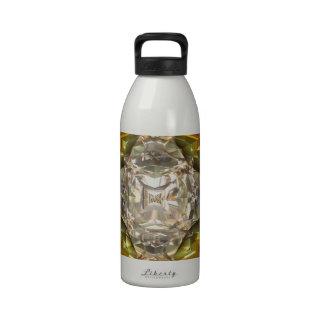 Ornamento del diamante del diseño moderno botella de beber