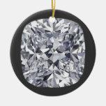 Ornamento del diamante ornamentos de navidad