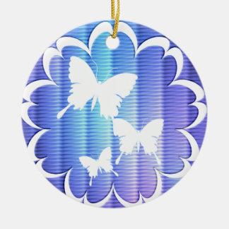 Ornamento del diseño de la mariposa ornamente de reyes