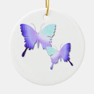 Ornamento del diseño de la mariposa ornamentos de reyes