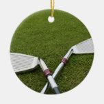 Ornamento del diseño del club de golf ornamentos de reyes