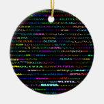 Ornamento del diseño I del texto de Olivia Adorno