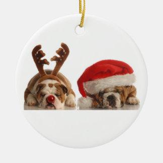 Ornamento del dogo del navidad ornamentos para reyes magos