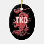 Ornamento del dragón del Taekwondo Ornamentos Para Reyes Magos