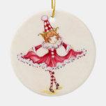 Ornamento del duende por el pato silvestre del ornamento de navidad