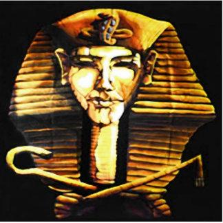 Ornamento del escritorio de Akhenaten Fotoescultura Vertical