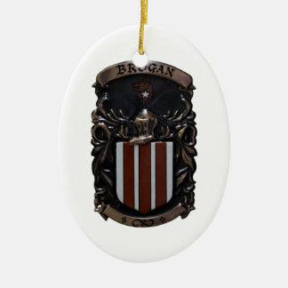 Ornamento del escudo del Brogan Ornamentos Para Reyes Magos