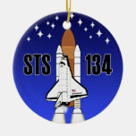 Ornamento del esfuerzo STS-134 Ornamento De Navidad