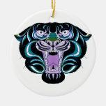 Ornamento del estilo 2 del tigre ornamentos de navidad